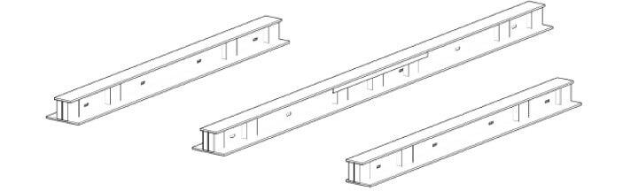 Standardquerschnitt eines GSY-Trägers